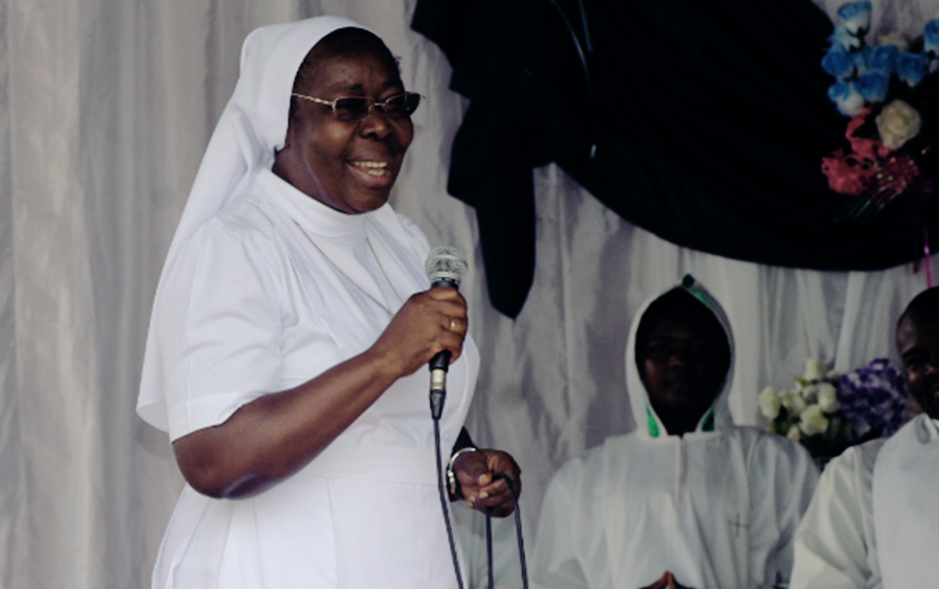 Sr. Mary Kombe Celebrates Ruby Jubilee